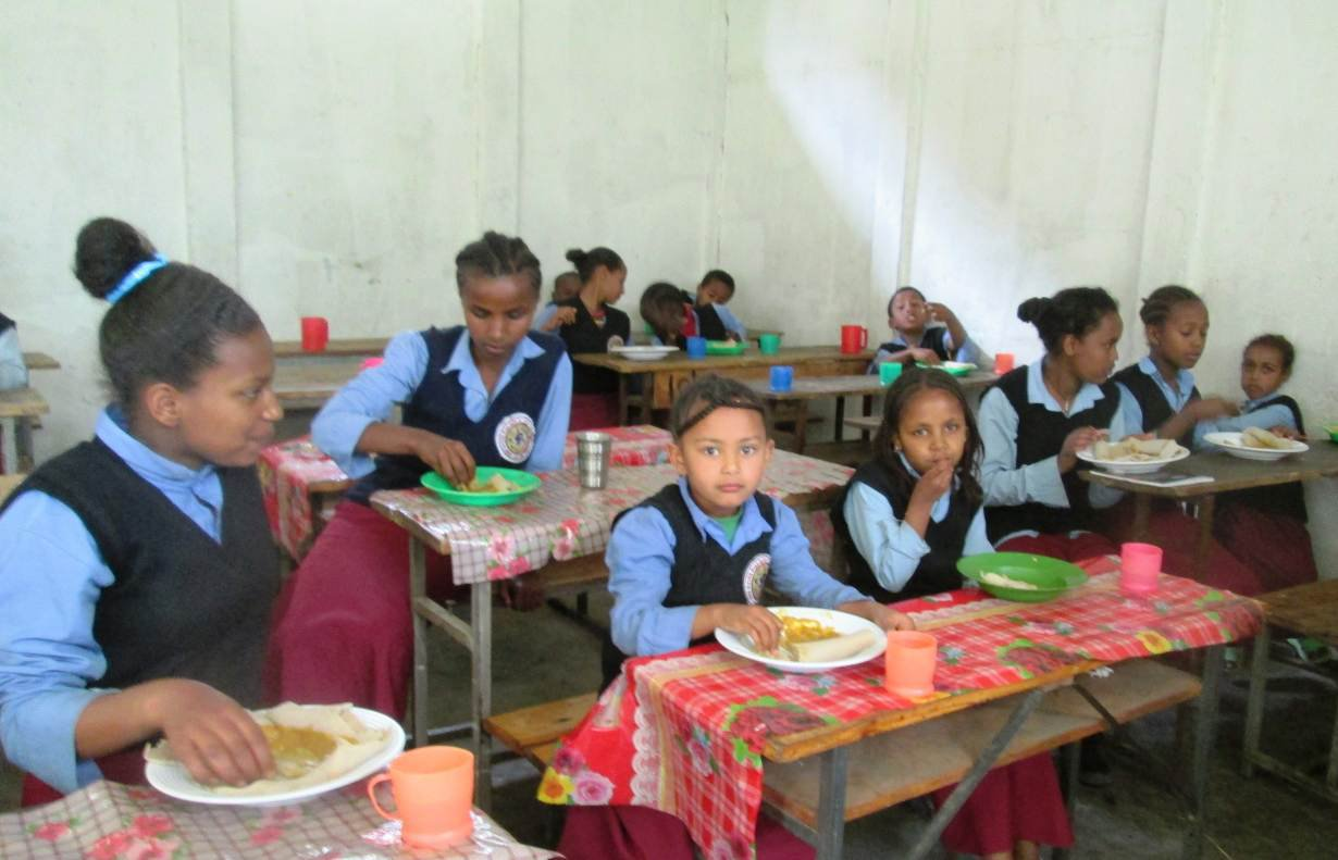 Ethiopian Children Will Receive Free School Meals Amid Drought