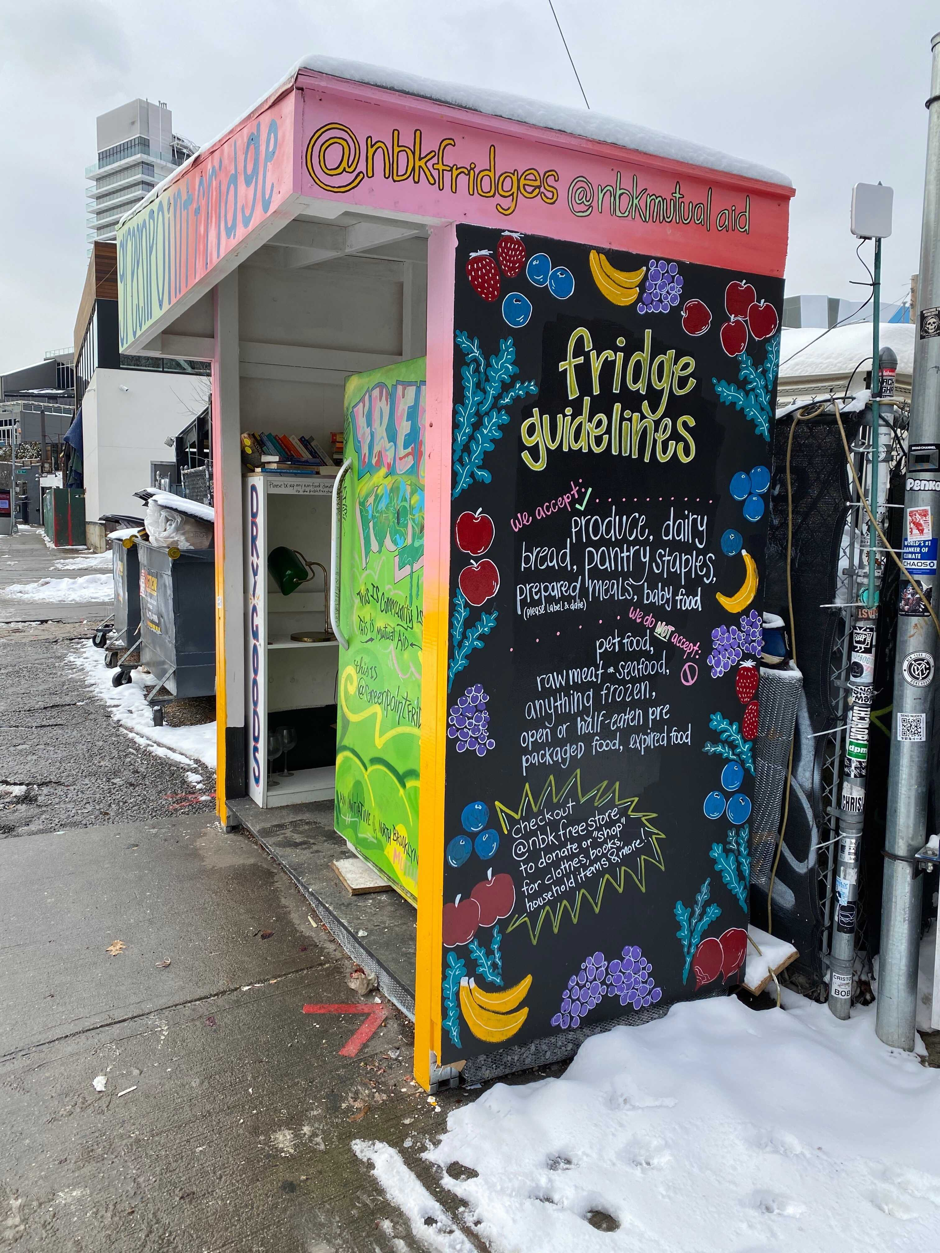 Colorful Community Fridges Are Tackling Food Insecurity in Cities Across the US