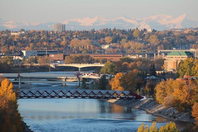 Calgary bridges