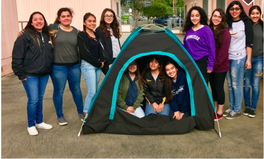 Article: 12 Girls Created a Solar-Powered Tent to Tackle Homelessness