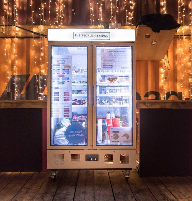 Community Fridge In South London Offers Free Food For