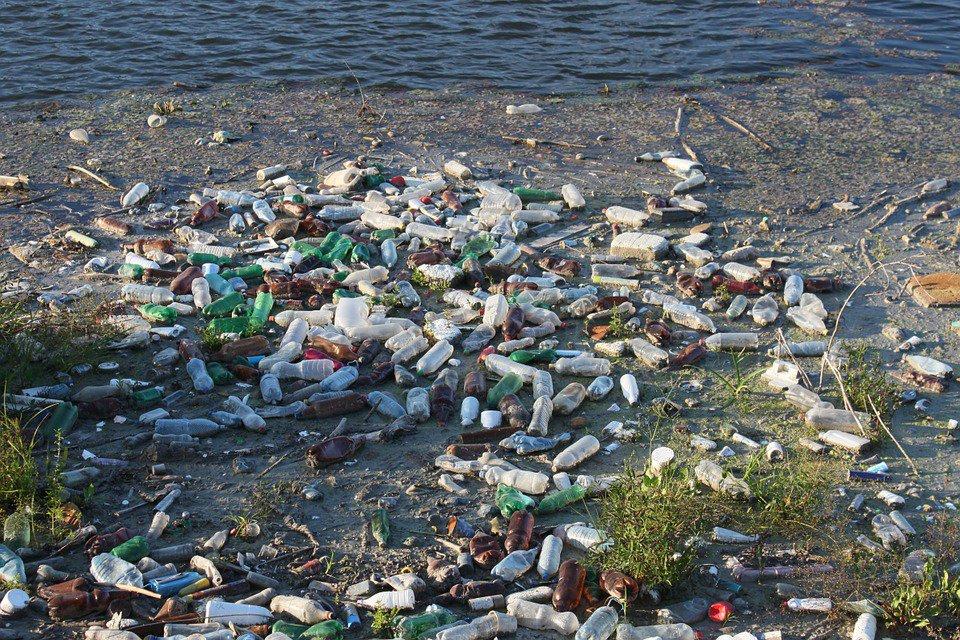 Plastic Bottles Beach