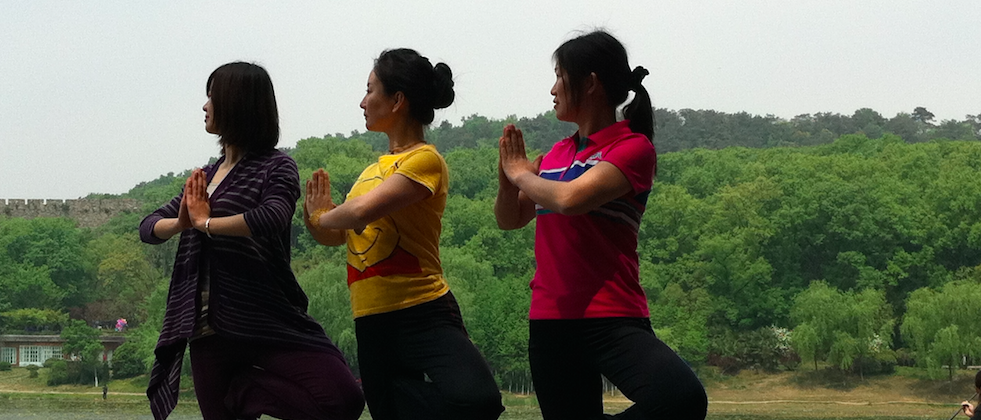 This Chinese Village Is Fighting Poverty With Yoga