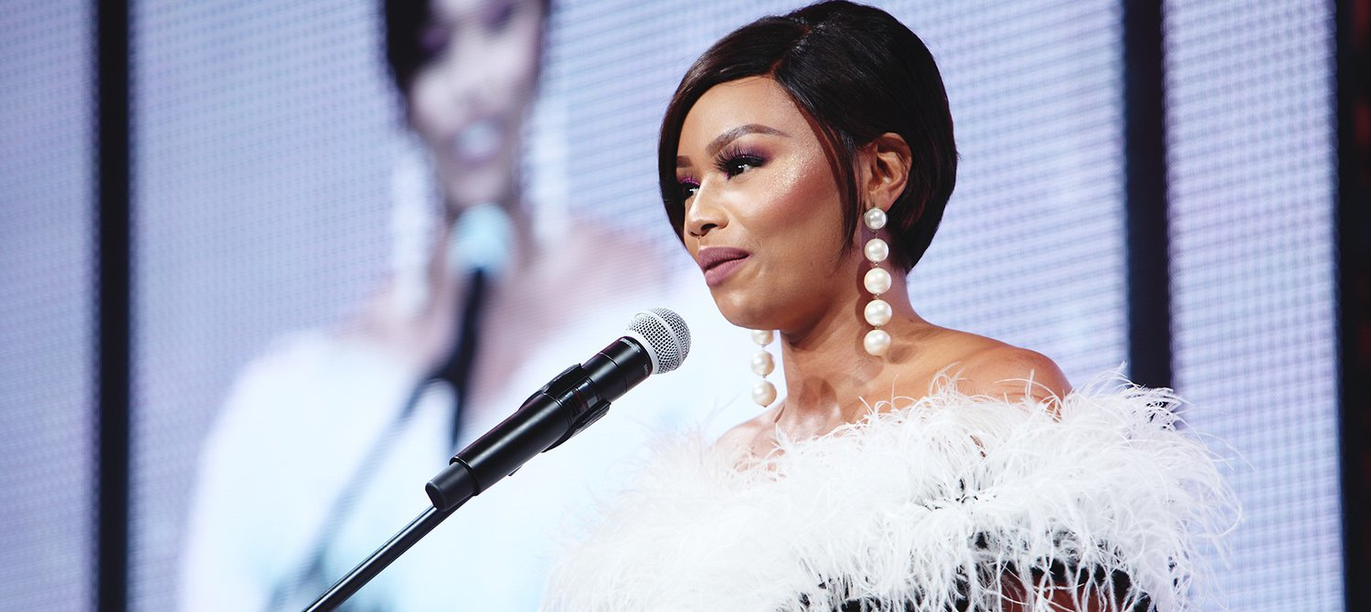 Bonang Matheba Says No Girl Should Miss School Because of Her Period at Johannesburg Premiere of 'ACTIVATE'