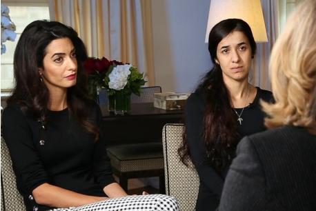 Amal Clooney on Nadia Murad, Yazidi Case: 'I Can't Walk Away