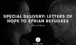 Article: Letters of Hope connect refugees from WWII and Syria - Duha and Renata's story