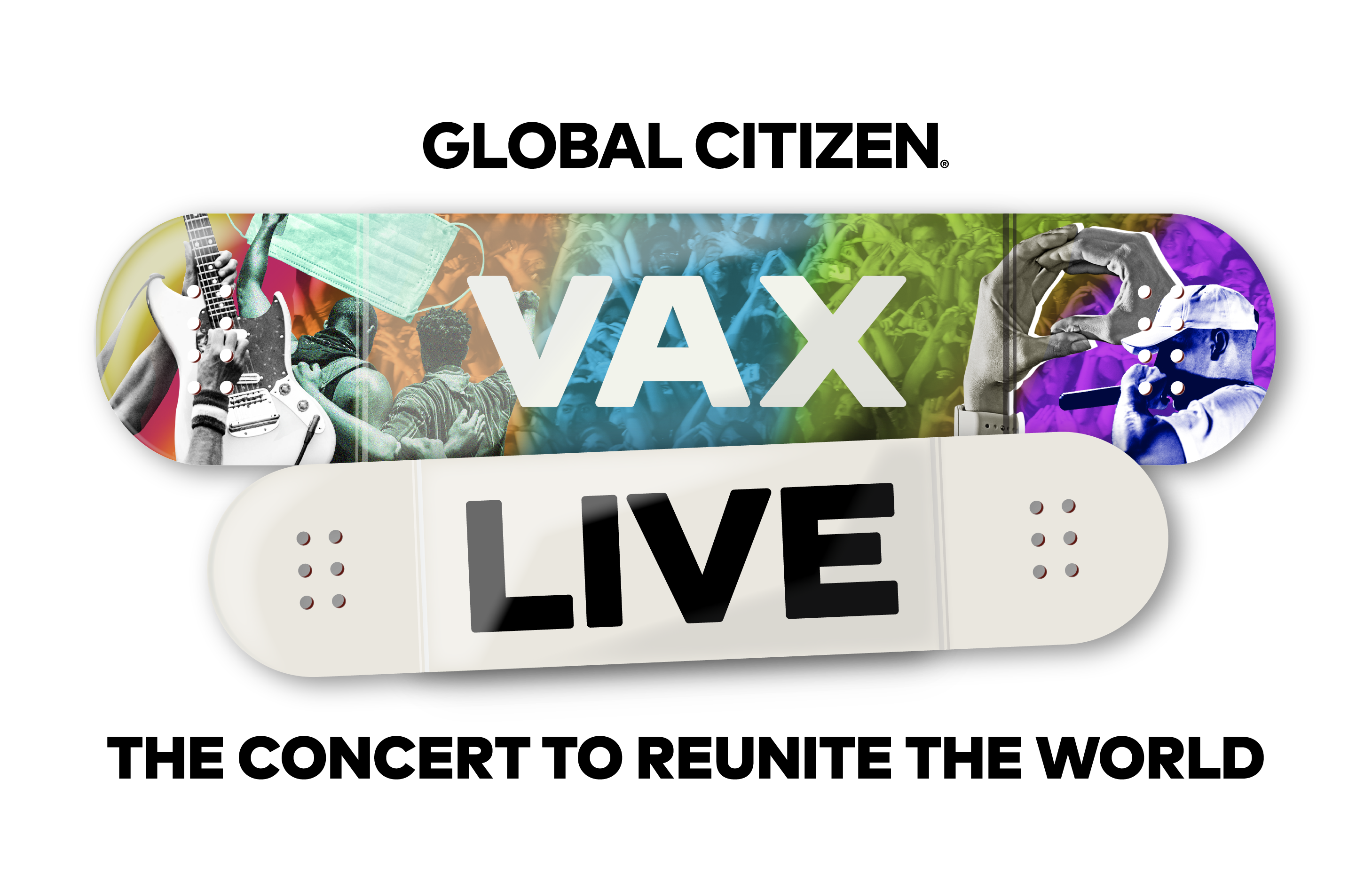 VAX LIVE: The Concert to Reunite the World Logo