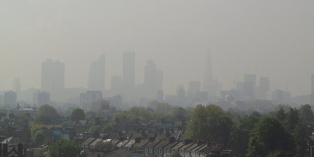 Air Pollution London UK Britain Nitrogen Dioxide Diesel Cars