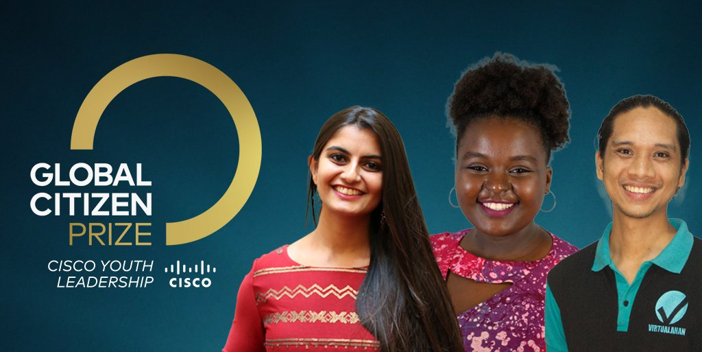 Global Citizen Cisco Youth Leadership Award
