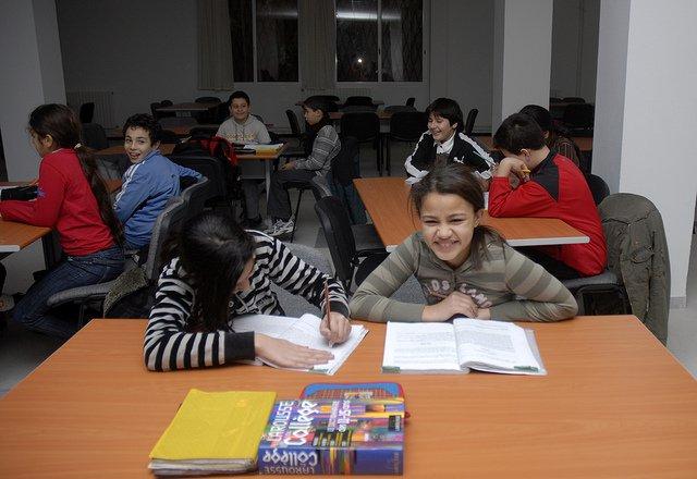 Algerian classroom