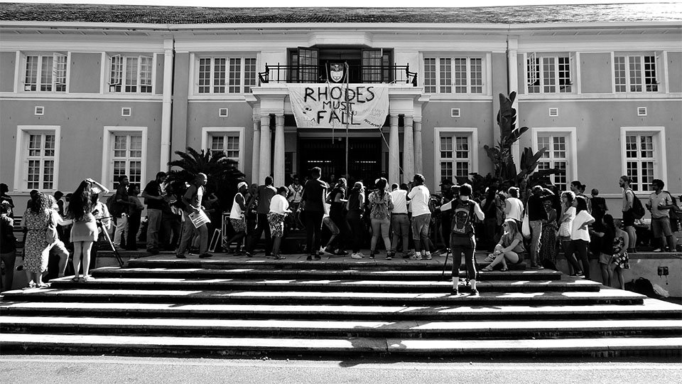 Rhodes Must Fall UCT Campus