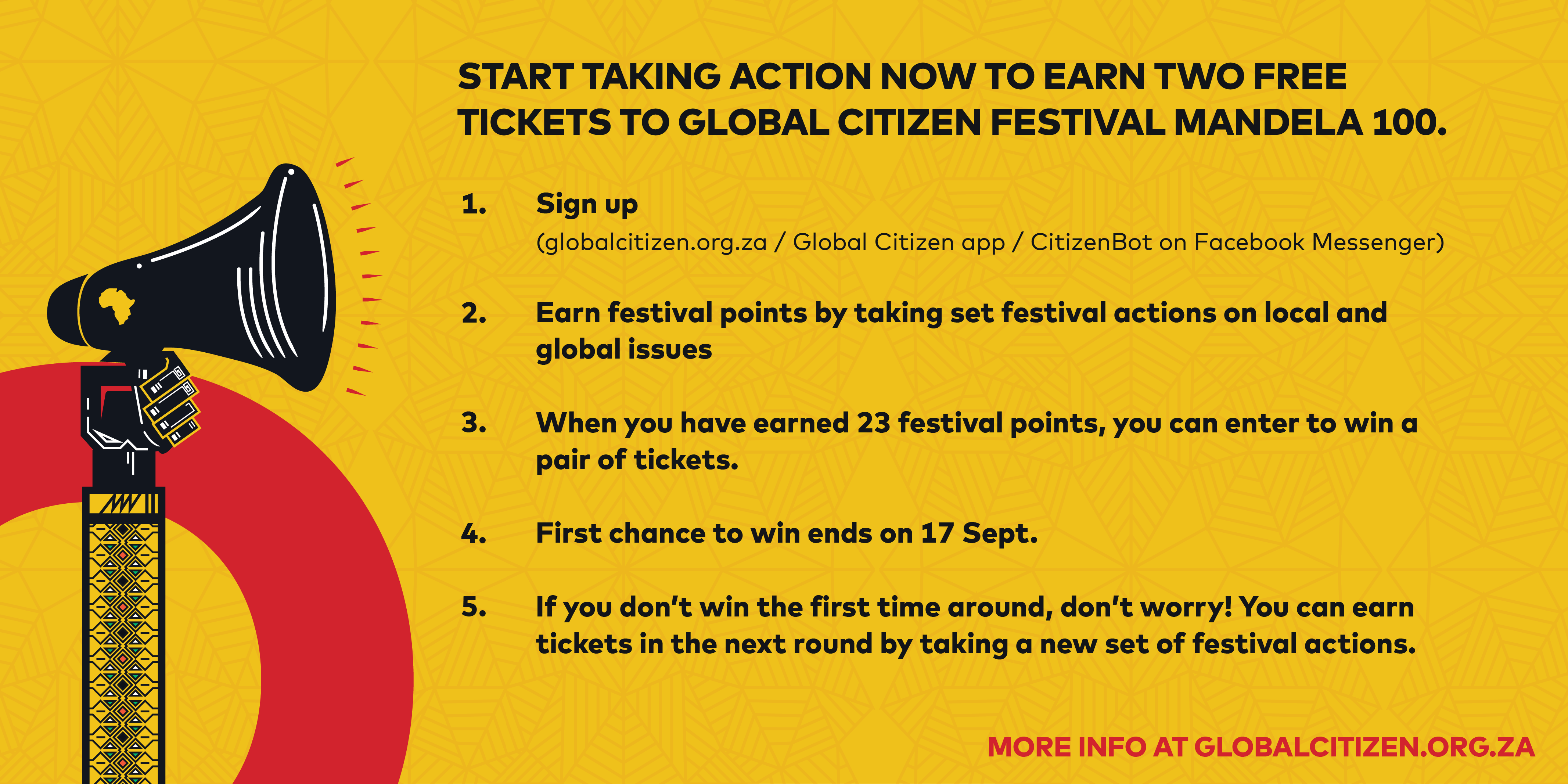 How to Get Tickets to Global Citizen Festival in South Africa
