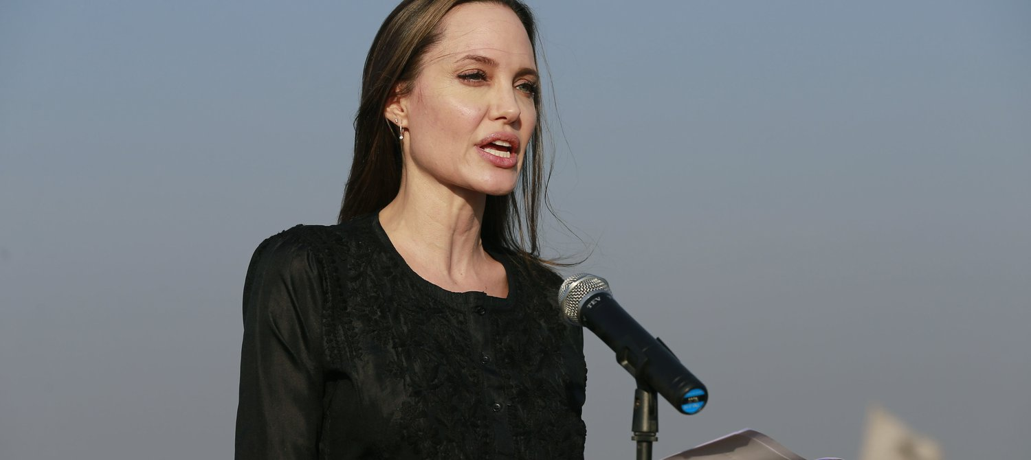 Angelina Jolie Urges UN to Hold Those Who Use Rape as a Weapon of War Accountable
