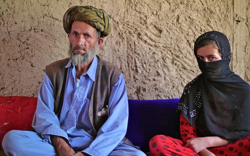 Hamara, 12, Dreams Of Teaching Afghan Girls-7319