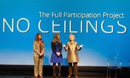 Article: Hillary & Chelsea Clinton and Melinda Gates work to shatter glass ceilings