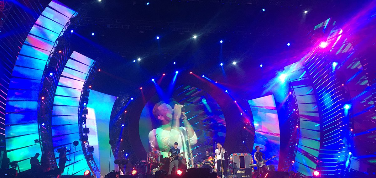 Coldplay, Jay Z, and A R  Rahman Rock Global Citizen