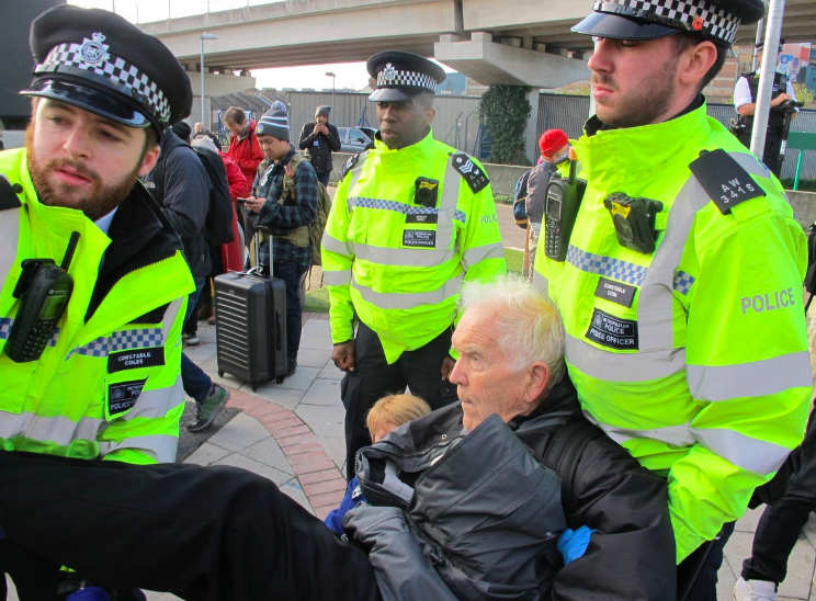 Extinction Rebellion Protestors at London Airport Say They Are 'Mainstream' and 'Scared'