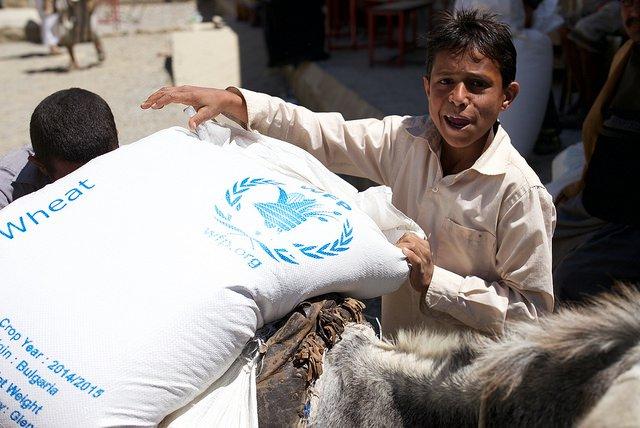food aid in yemen
