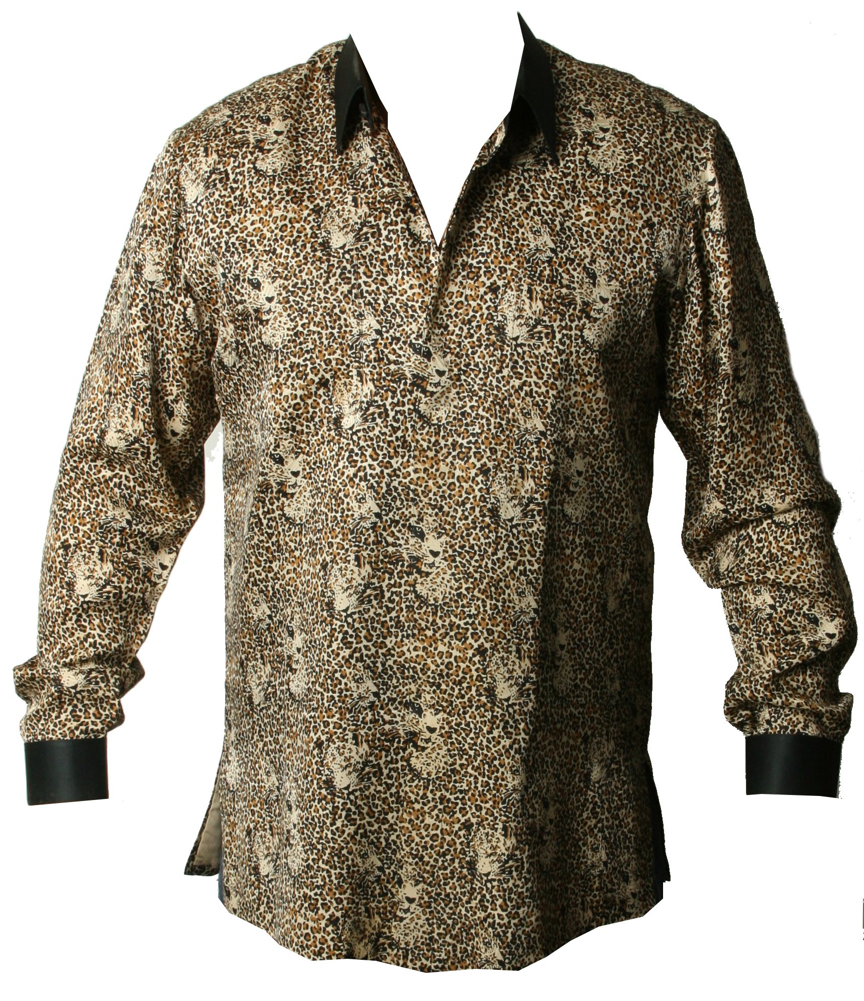A shirt that was custom made for Nelson Mandela often referred to as a 'Madiba Shirt'.JPG