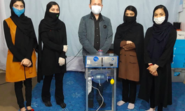 Article: These Aspiring Female Scientists in Afghanistan Designed a Cheap Ventilator to Treat COVID-19