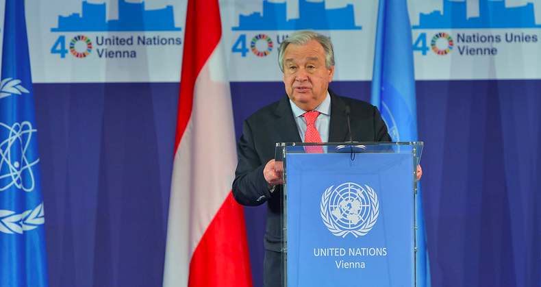 The UN Secretary-General Just Called Gender Inequality 'Stupid'