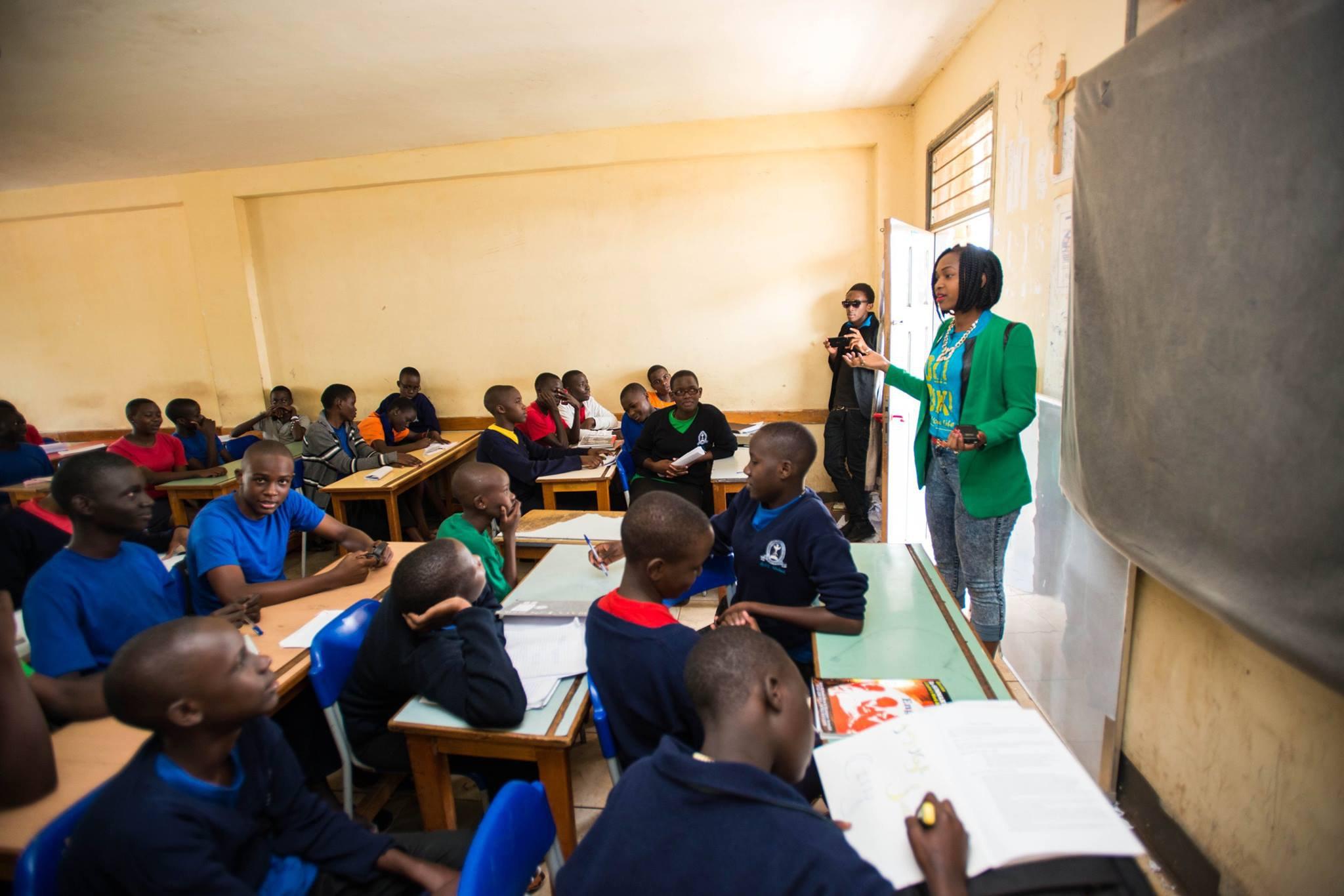 Reach a Hand Uganda classroom