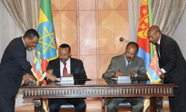 Article: 20-Year Conflict Ends as Eritrean, Ethiopian Leaders Embrace Peace