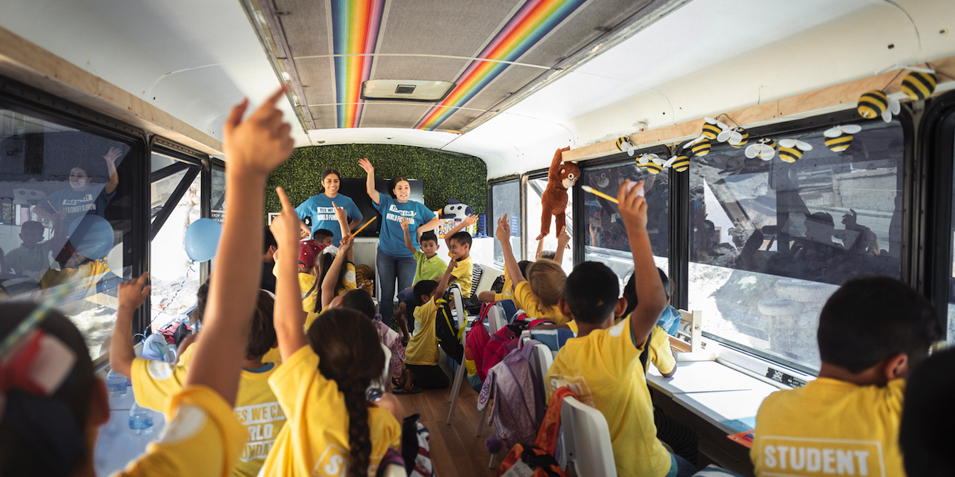 This Bus-Turned-Classroom Is Helping Migrant Children Learn at the US Border