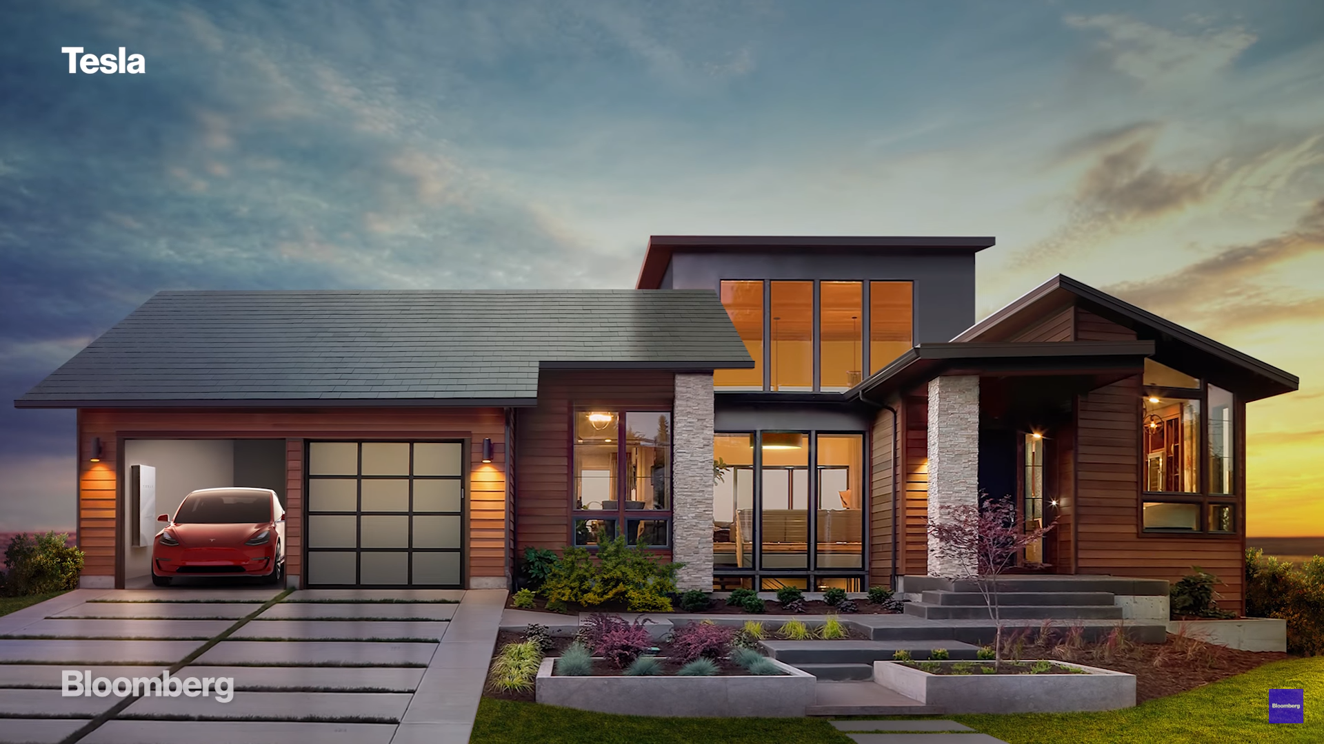 Tesla Solar Roof Elon Musk renewable energy