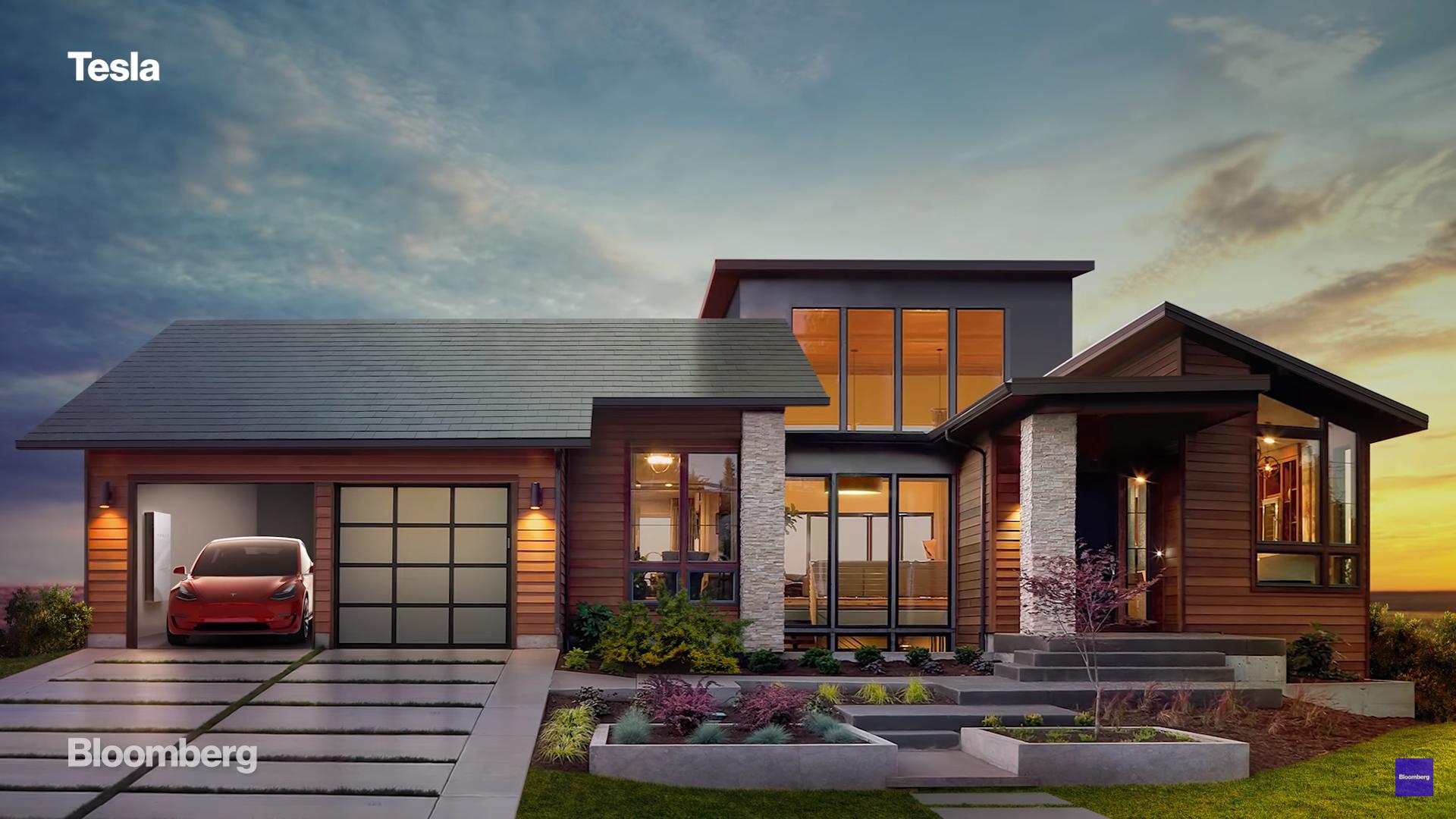 Tesla Solar Roof Elon Musk renewable energy