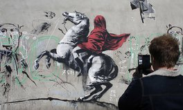 Article: Banksy's New Paris Street Art Shines a Light on the Global Refugee Crisis