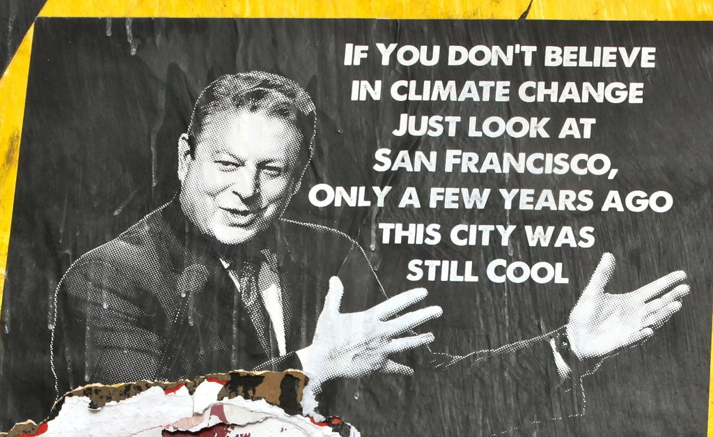 Comments about Al Gore's speech on global warming???