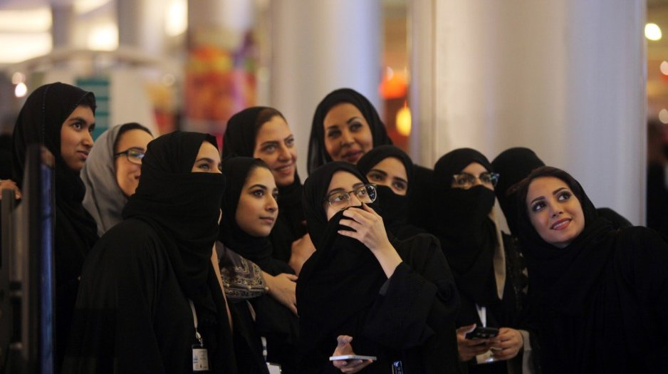 Bildschirmfoto Frauen in Saudi-Arabien.png