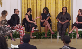 Video: Michelle Obama inspires famous talk show host to go back to school