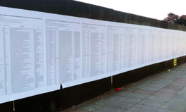 Article: Liverpool Artwork Listing Names of Refugees and Migrants Who Died Is Destroyed
