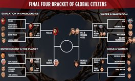 Article: It's time to vote in the Global Citizen March Madness FINAL FOUR!