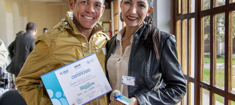 This Teaching Program Is Helping Venezuelan Refugees Get Back on Their Feet