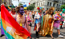 Article: Ukraine Just Had Its Largest — and Most Peaceful — LGBTQ Pride March Ever