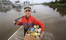 Article: This Sixth Grader Has Removed 2,215 Pounds of Trash From the Petaluma River