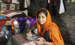 Article: This Woman Went From Earning $.75 to Starting Her Own Sari Business
