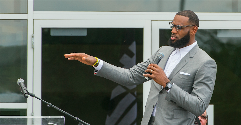 Lebron James I Promise school opening