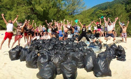 Article: The Before and After #Trashtag Photo Challenge Has Gone Viral