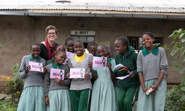 Article: This Global Citizen Has Given Pads to 30,000 Girls in Kenya — and Has More Work to Do