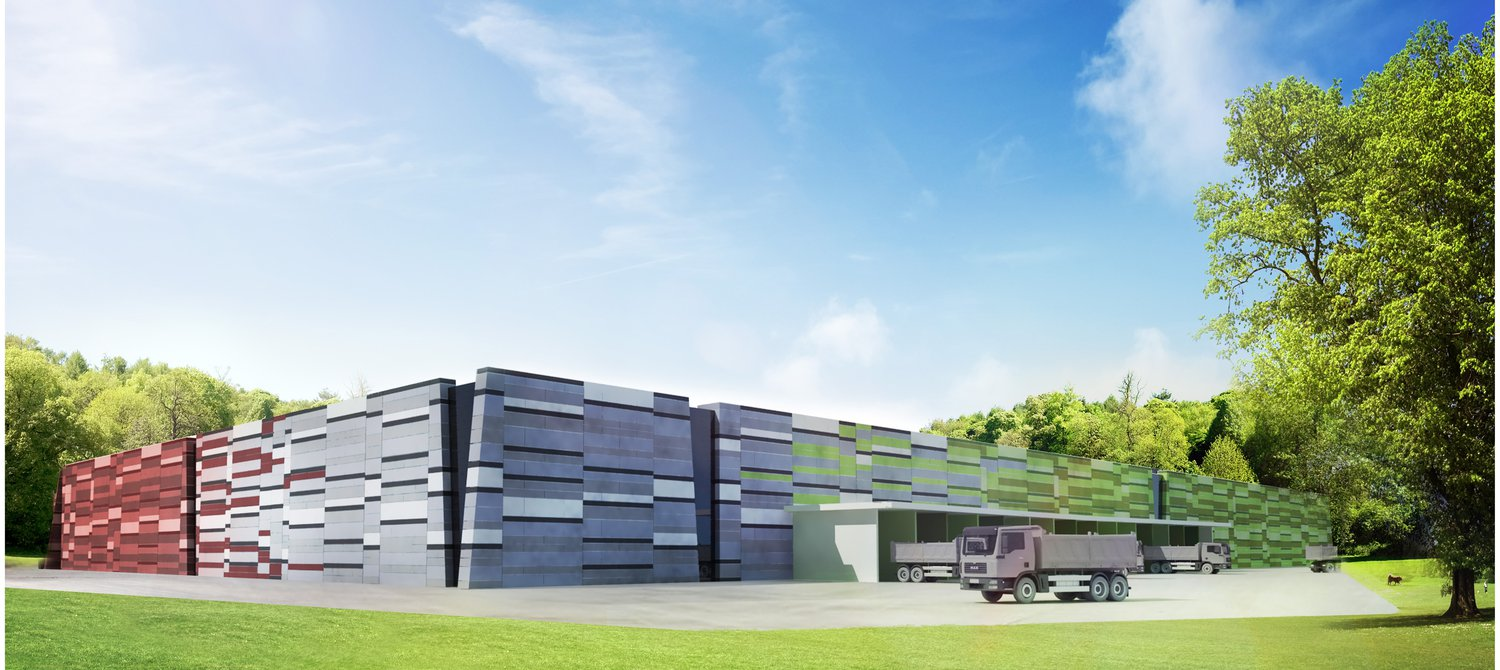 This New Recycling Facility Will Repurpose 90% of Household Waste