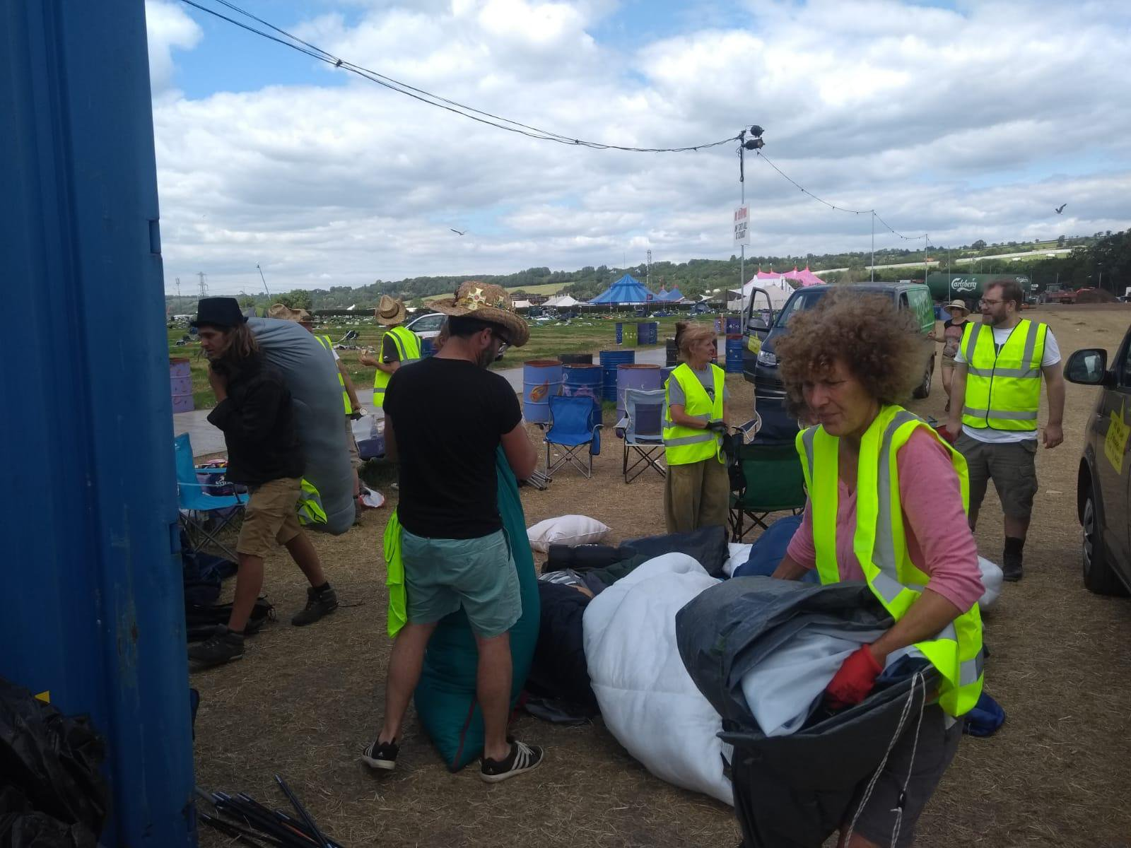 Image result for These Charities Found a Genius Way to Use Festival Leftovers to Help Refugees