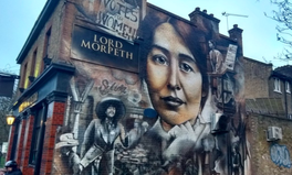 Article: This Mural on a London Pub Honours the Suffragette Who Lived Next Door