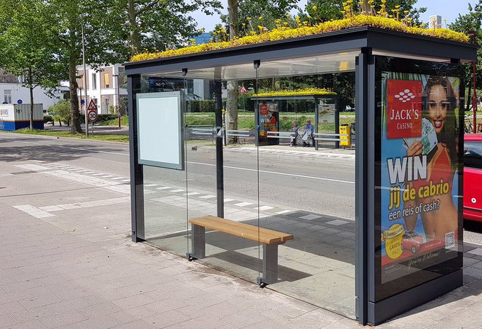 Bus stops - cover