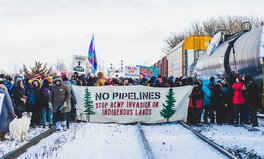 Article: Indigenous People in Canada Are Protesting a Gas Pipeline by Blocking Railways