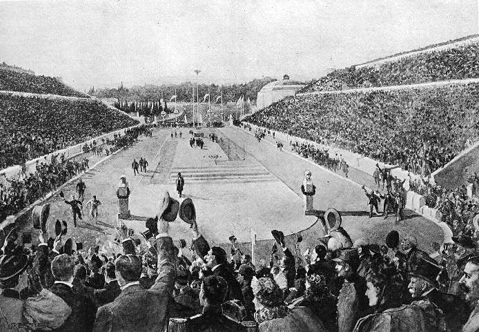 Louis_entering_Kallimarmaron_at_the_1896_Athens_Olympics.jpg