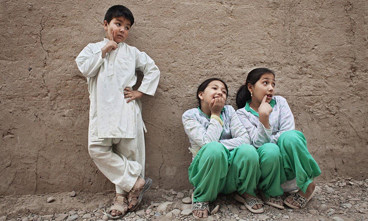 Mehran with her sisters.jpg